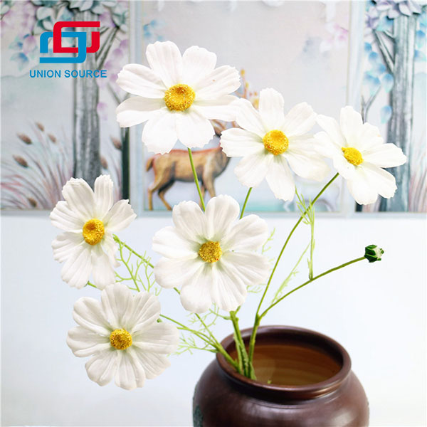 Cheap Price 6 Heads Sims Azalea Artificial Flowers For Decoration