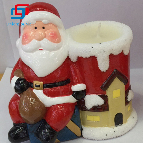 China Ceramics Candle Supplier Sale Customized Candle Holder Jars