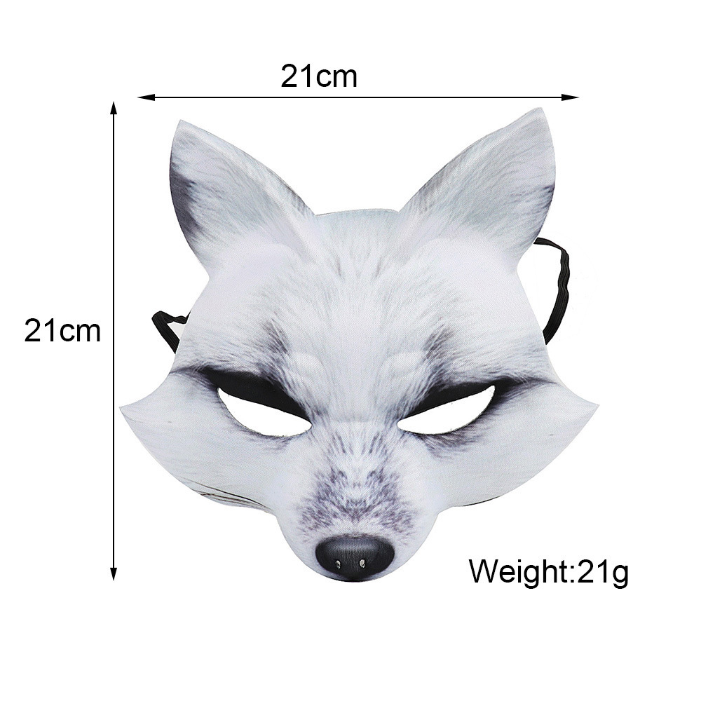 China Fox Shaped Carnival Mask