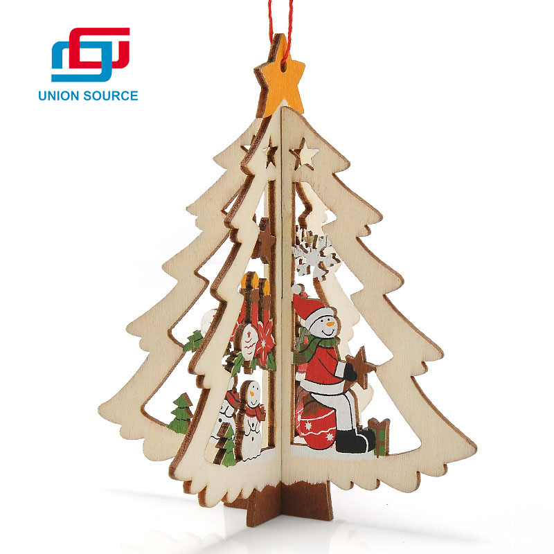 Christmas Wooden Hanging Tree/Bell/Star
