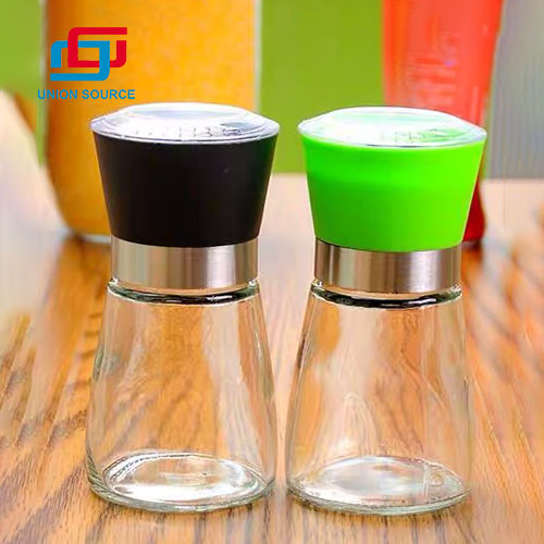 Condiment Bottles With Different
