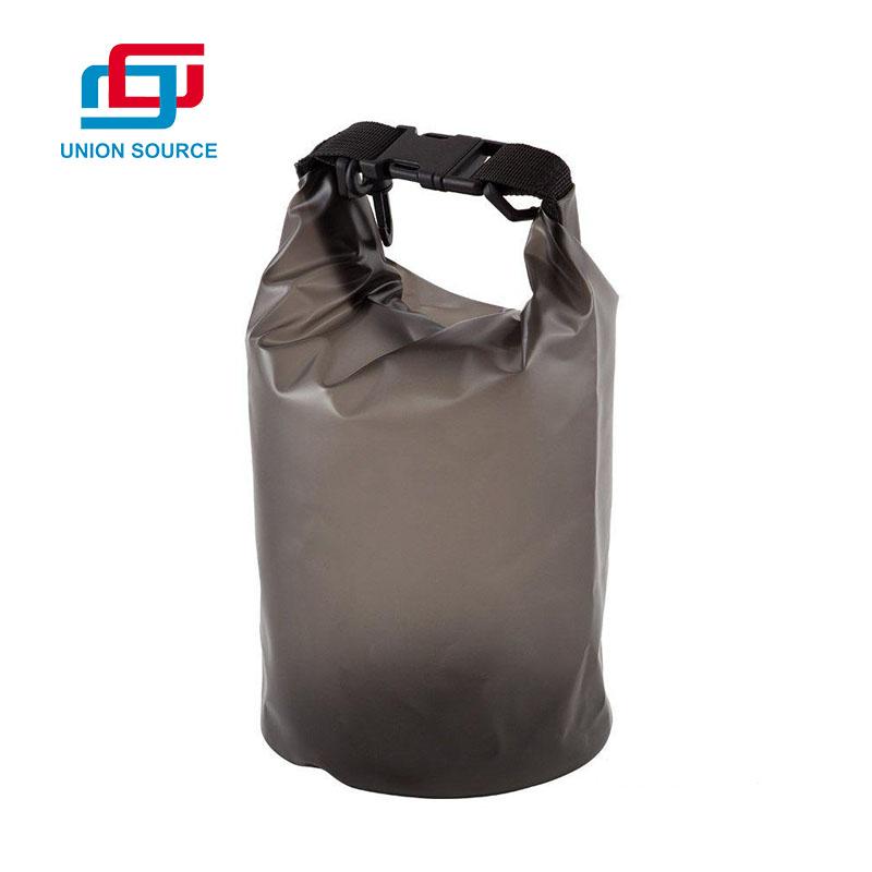 Bolsa seca impermeable de PVC de poliéster al aire libre con logotipo personalizado