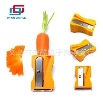 Bonito moldeador para pelador de zanahorias