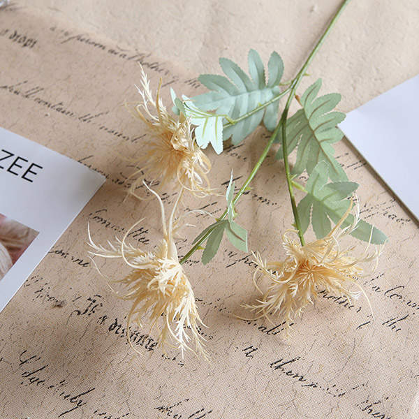 Decorative Simulation Celery Flowers Good Quality For Wedding And Home Usage