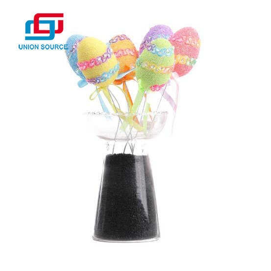 Easter Foam Egg 6pc/Set With Wood Stick