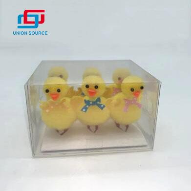 Easter Stuff Handmade Crafts Easter Plush Toy Goose Figurine