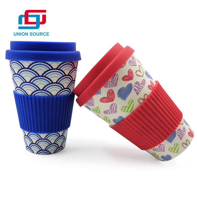 Taza de café Meterial ambiental con tapa