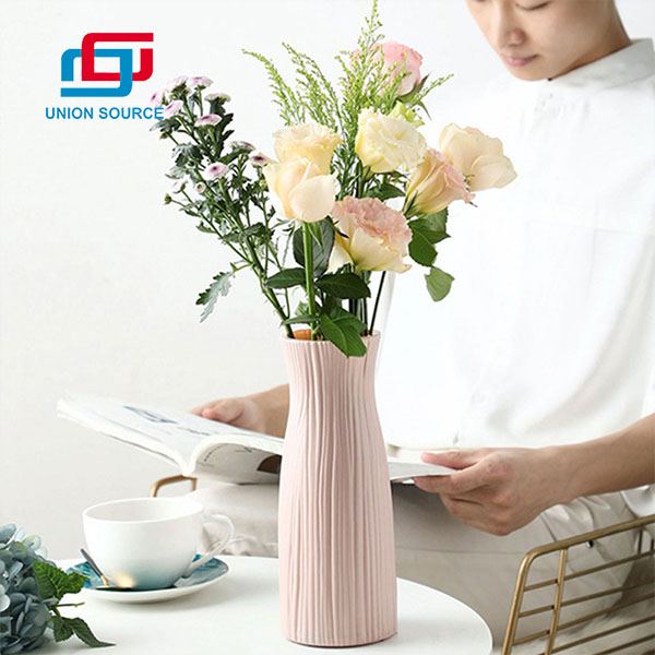 Factory Price High Quality Plastic Vases For Home Decoration