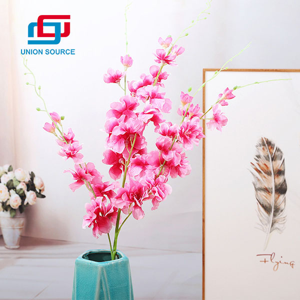 Fashion Model Decorative Simulation Sparrow Flowers For Home And Garden