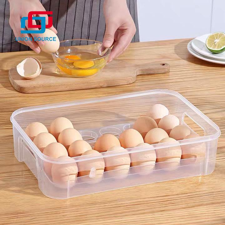Contenedor de huevos de nevera para almacenamiento