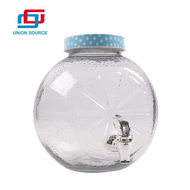 Glass Drinks Tap Dispenser With Good Price