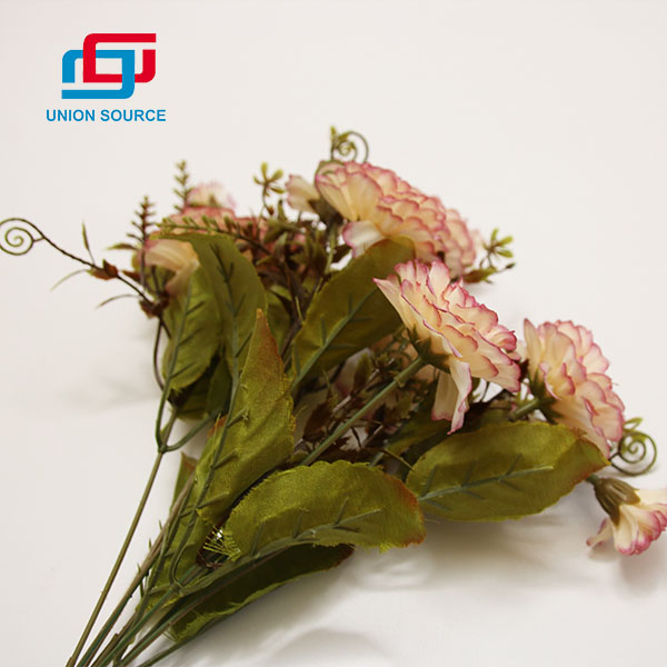 Good Price 5 Heads Oil Painting Carnation Flowers High Simulation For Decoration