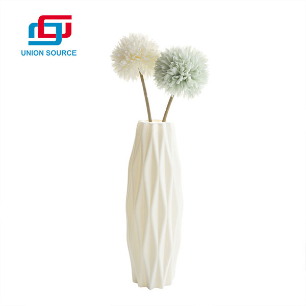 Good Price Plastic Vases For Artificial Flowers For Home Usage