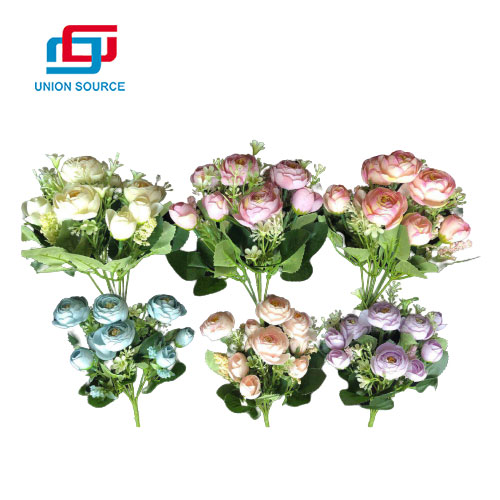 Good Quality European Tea Buds Simulation Bouquet For Decoration