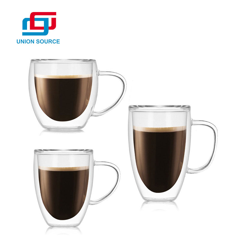 Taza de café de borosilicato alto