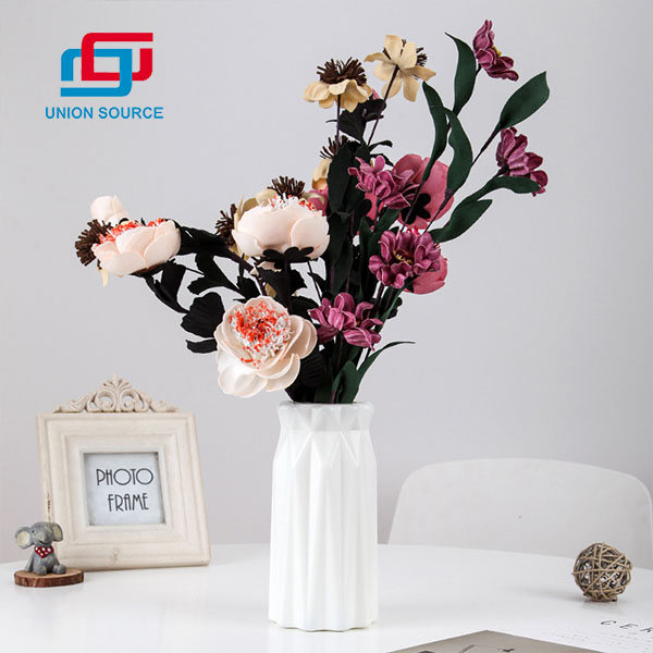 High Quality Artificial Flowers Vases Platic Vases For Decoration Usage