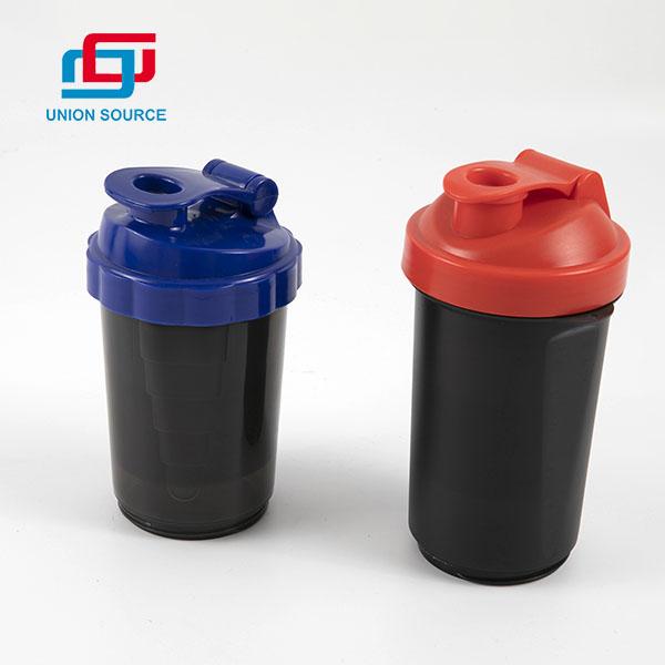 Botella de agua agitadora de diseño de montaje de alta calidad