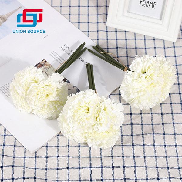 Ramo de hortensias de simulación de alta calidad para uso en el hogar y el jardín