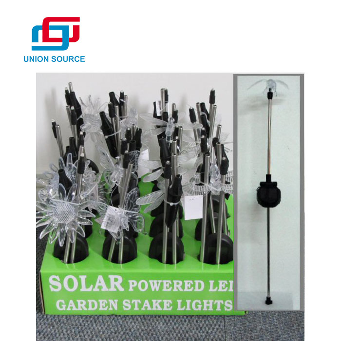 High Quality Solar Powered LED Garden Stake Light