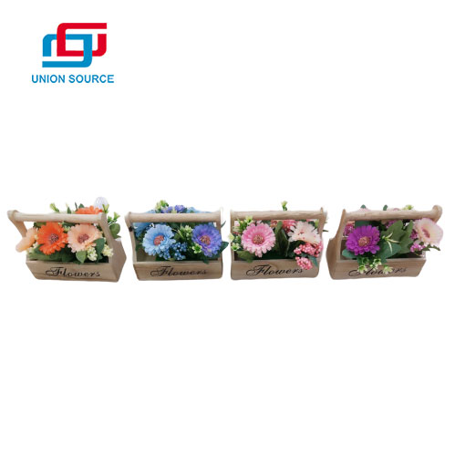 High Simulation Color chrysanthemum Potted Plants For Home Decoration