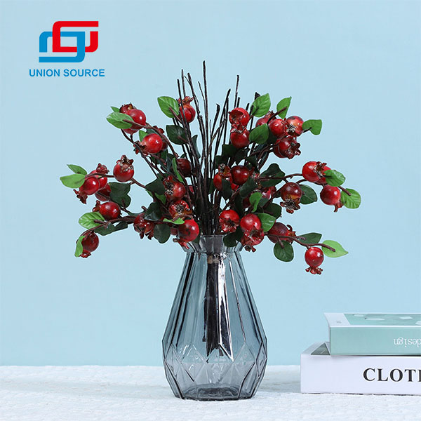High Simulation Decorative Berries Rose hip For Home