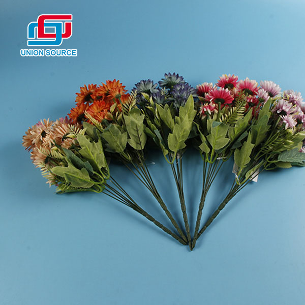 High Simulation Multi Color Plastic Flowers For Home And Wedding Decoration