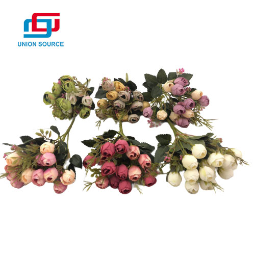 High Simulation Oil Painting Star Bud Decorative Bouquet For Wedding