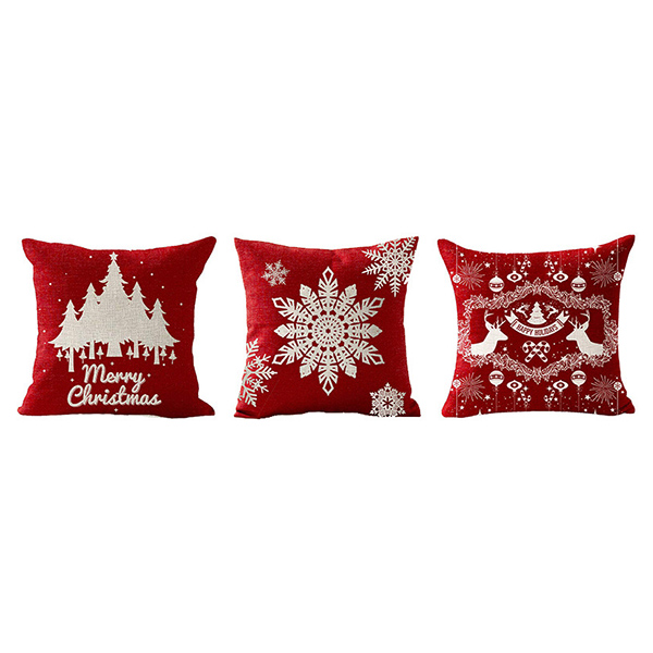 Hot Selling Home Decoration Warm Style Christmas Pillowcase