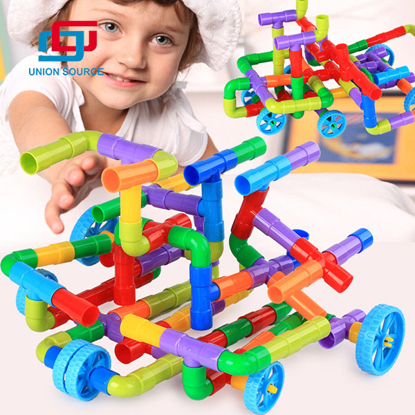 Intelligent Kids Pipe Splicing Toys