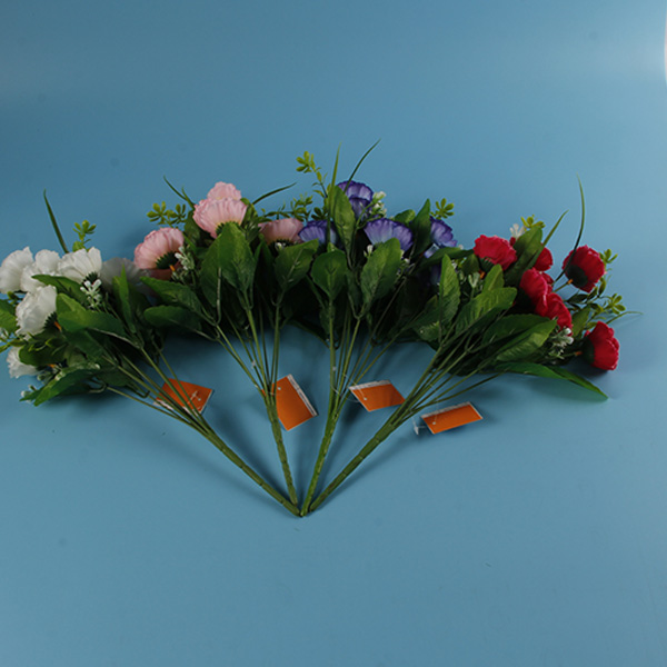 Lowest Price High Simulation Plastic Bouquet For Decoration