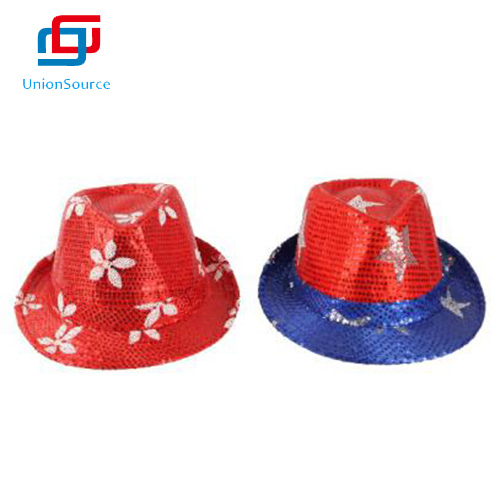 New Fashion Party Decorative Sequin Jazz Hat