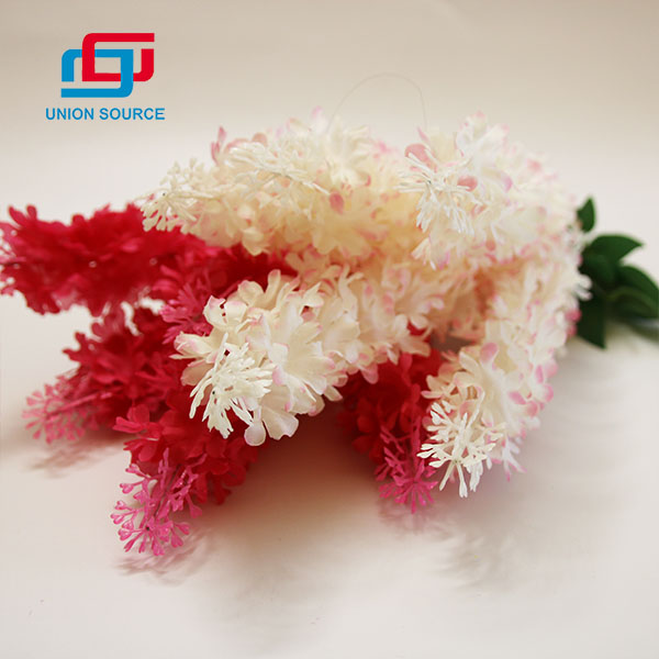 New Style Good Price 5-pronged Hyacinth Artificial Boquet For Decoration