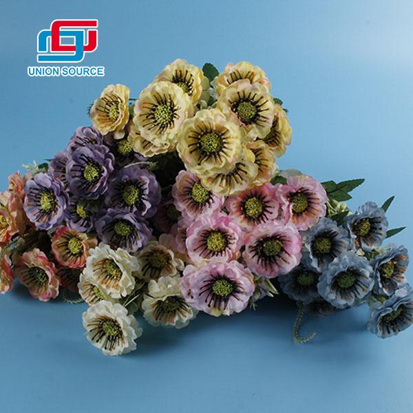 Flores plásticas de la alta simulación del nuevo estilo para la decoración casera