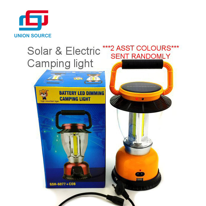 Outdoor Handle Portable Mini LED Camping Light With Hook