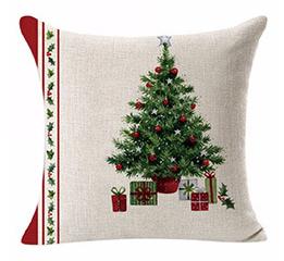 Premium Quality Christmas Decoration Linen Pillowcase