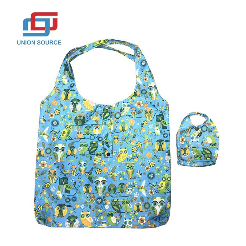 Printing Shopping Bag With Small Bag Inside
