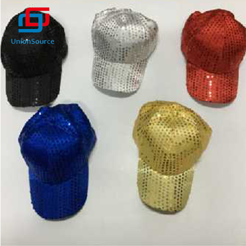 Role-playing Light Up Party Hats Sequin Snazzy Hat For Adult Dance Celebrating Performance