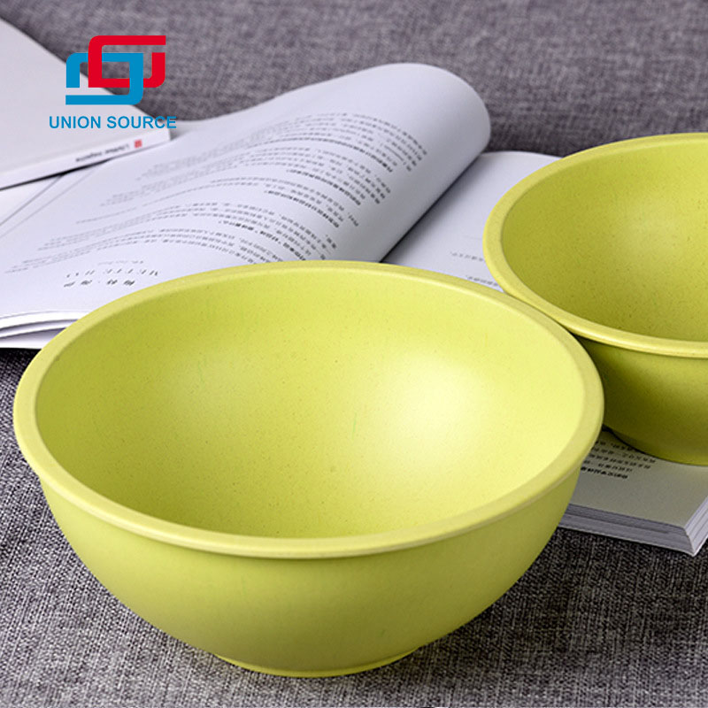 Round Shaped Salad Bowl With Customized Color