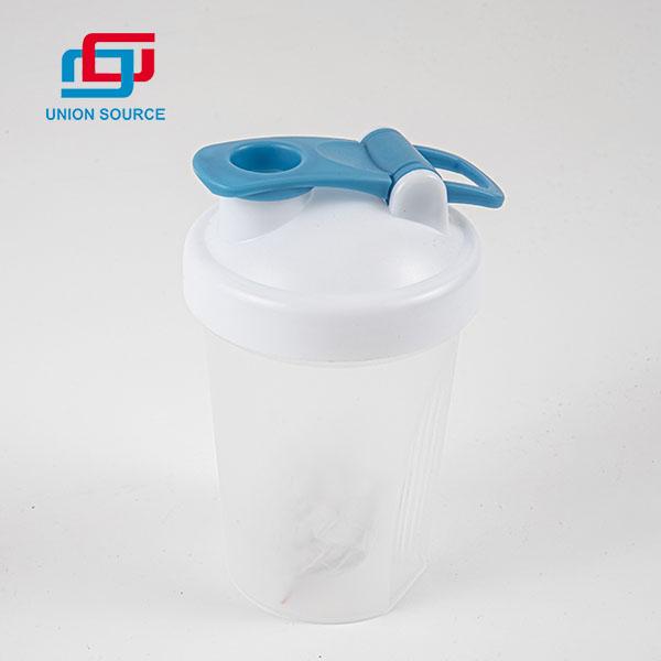 Botella de agua de coctelera de alta calidad de diseño simple