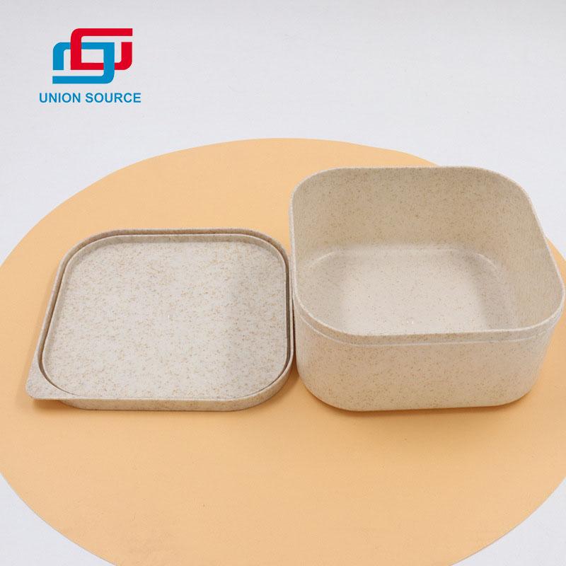 Négyzet alakú PLA ebéddoboz testreszabott