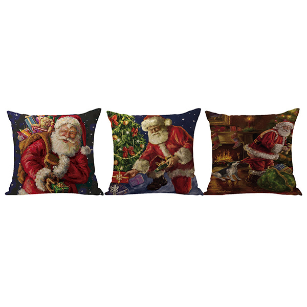 Supplier Cool Design Christmas Linen Pillowcase Home Decor For Sale