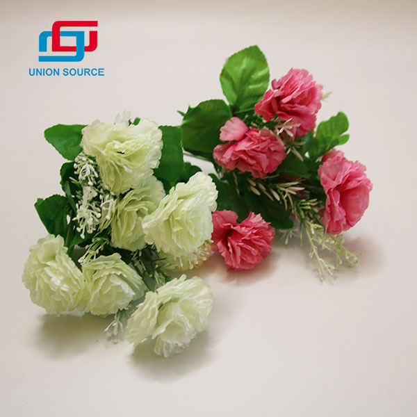 Top Sale 7 Heads Fork Well Off Simulation Bouquet For Decoration Usage