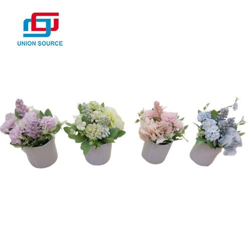 Bonsai floral de cerámica artificial de la venta superior para la decoración del hogar