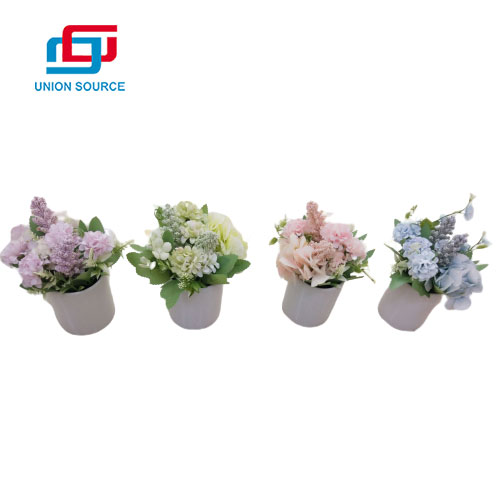 Top Sale Artificial Ceramic Floral Bonsai For Home Decoration
