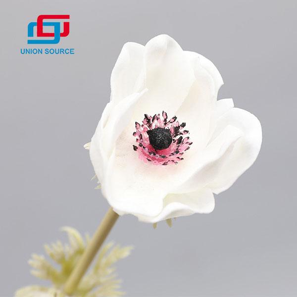 Venta superior simulación hierba patrón flores color de rosa decoración del hogar