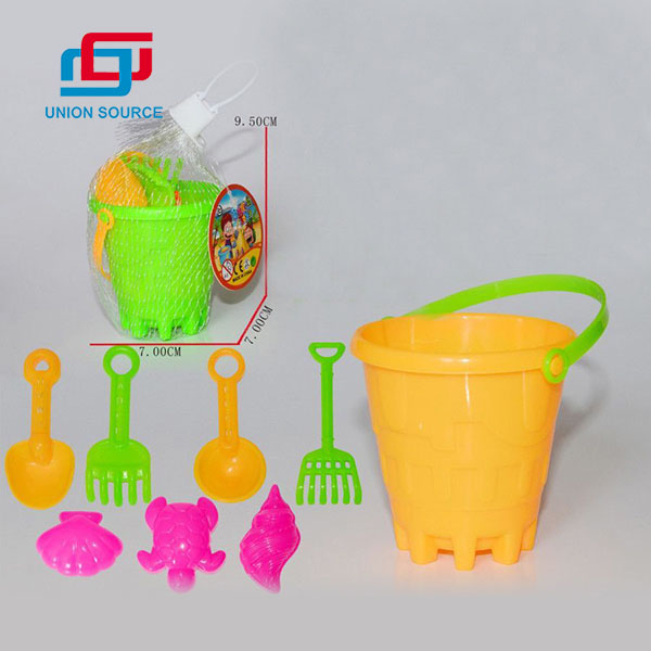 Top Seller Colorful Beach Bucket Toys