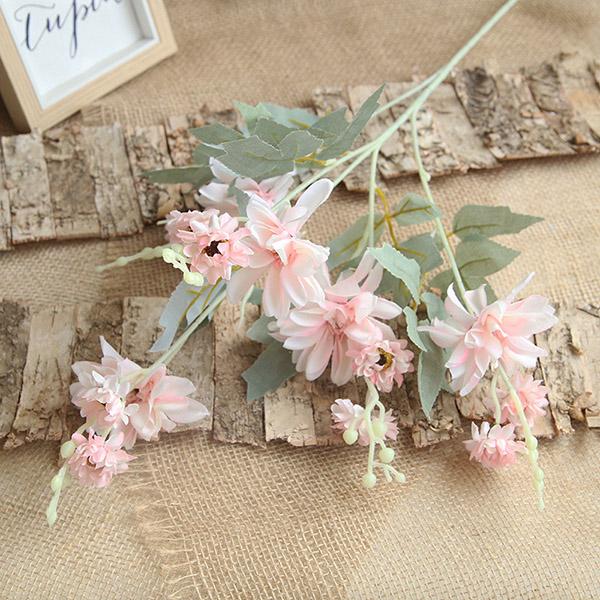 Top stílusú divatos Dahlia szimulációs virágok esküvőre és lakberendezésre