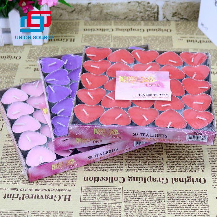 Día de San Valentín 50pcstea Light sin humo