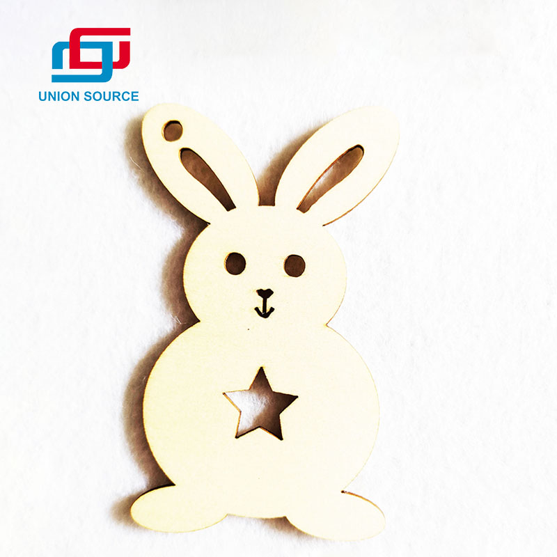 Wholesale Newest Design Professional Supplier Promotional Easter Hanging Wooden Decoration