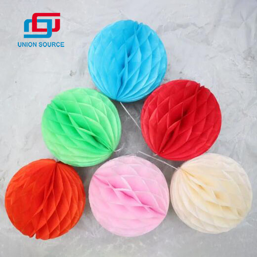 Wholesale Paper Hanging Decoration For Christmas